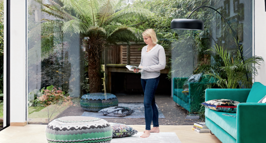 At Home with Art Consultant Louisa Warfield.