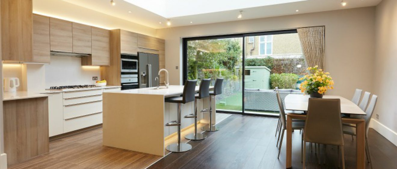 Making Space for the Family. A Lovely Barnes Home.
