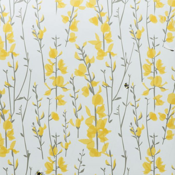 Borrom & Bee Sky Wallpaper by Lorna Syson Available at The Decorcafe Shop