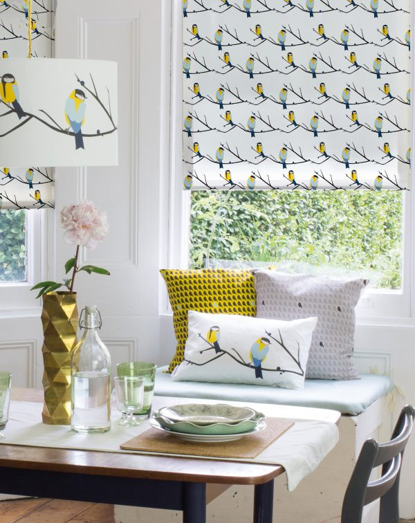 Juneberry & Bird Lampshade by Lorna Syson available at The Decorcafe Shop