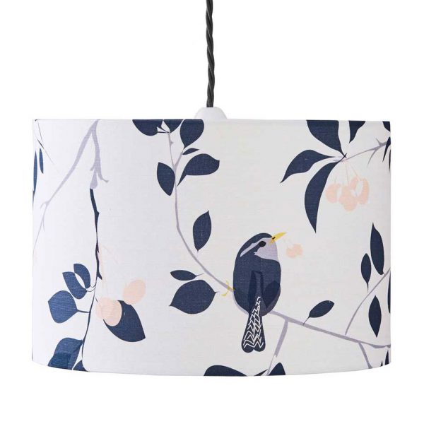 Wren & Cherry Lampshade by Lorna Syson available at The Decorcafe Shop