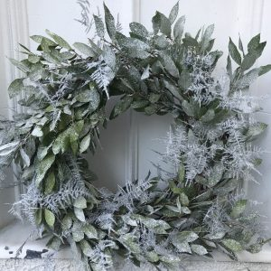 Winter Frost Luxury Christmas Wreath by The Velvet Daisy at The Decorcafe