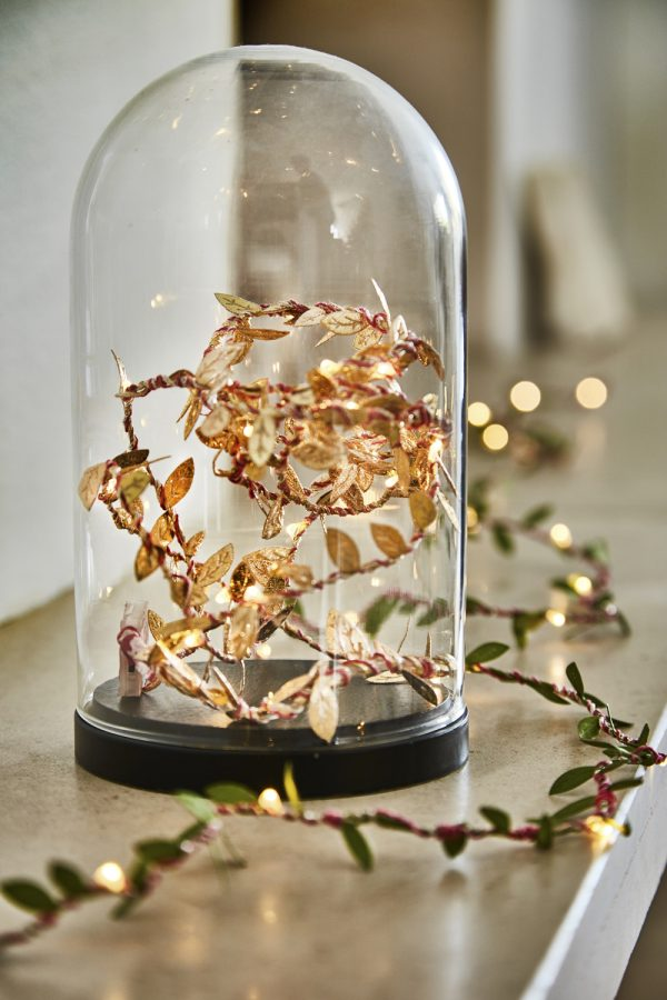 Gold Leaf Fairy Lights by Melanie Porter available at The Decorcafe Shop