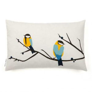 Juneberry & Bird Cushion by Lorna Syson Available now from The Decorcafe Shop