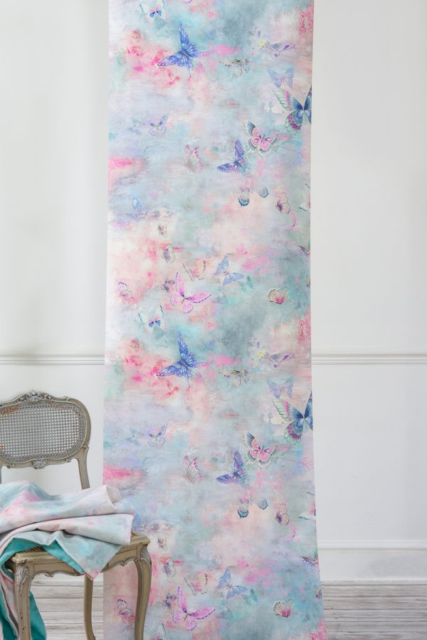 Rêverie Butterfly Wallpaper by Salon Libertine Available at The Decorcafe Shop