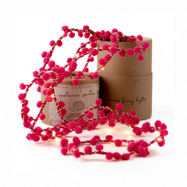 PomPom Fairy Lights by Melanie Porter available at The Decorcafe Shop