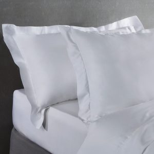 Bamboo Set of 2 Oxford Pillowcases iin Pure White by All Bamboo and available at The Decorcafe Shop