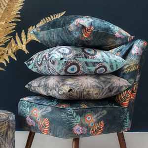 Decorative Cushions on Chair