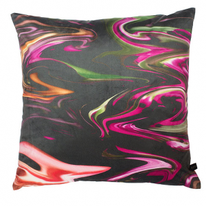 Out There Marble Cushion by Rebecca J Mills available in The Decorcafe Shop