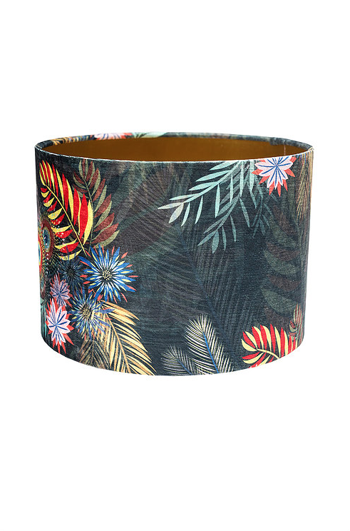 Nature's Way Bouquet Lampshade by Rebecca J Mills available at The Decorcafe