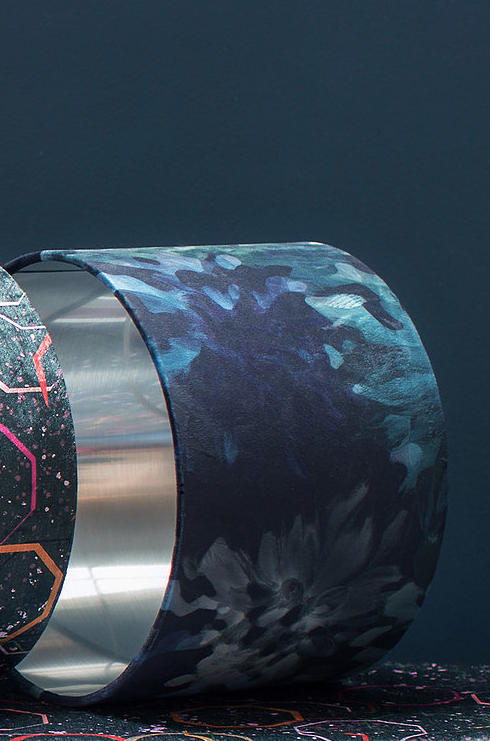 Fancy That Botanic Lampshade by Rebecca J Mills available at The Decorcafe