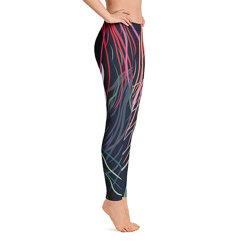 Grassed Leggings Full Length Side