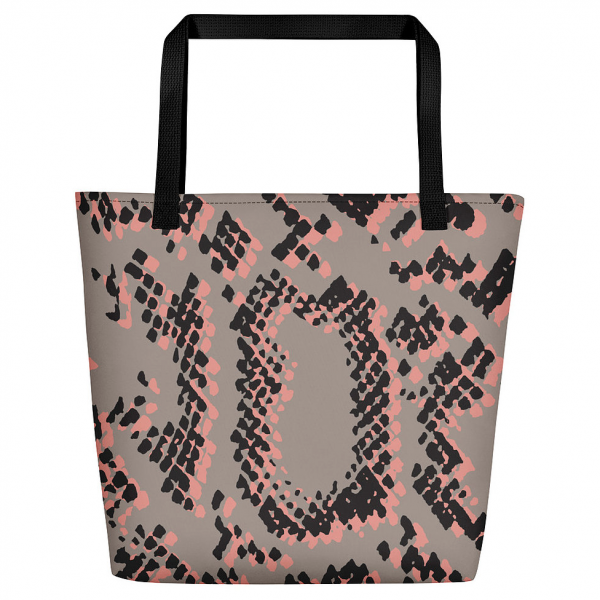 The Scaled 2 Tote Bag by Rebecca J Mills available at The Decorcafe