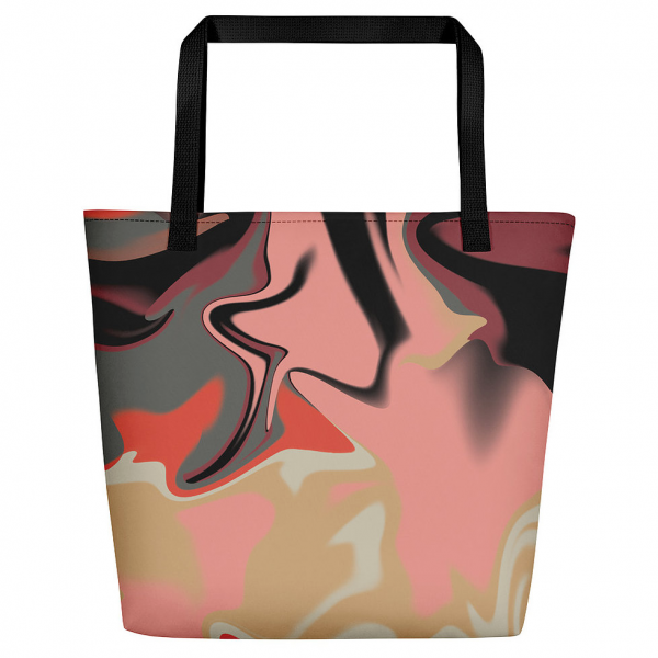 Melt Tote Bag by Rebecca J Mills available at The Decorcafe