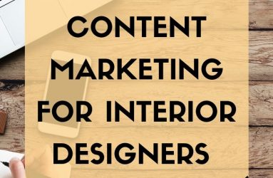 Fiona Mostyn, my deco Marketing, Content Marketing for Interior Designers