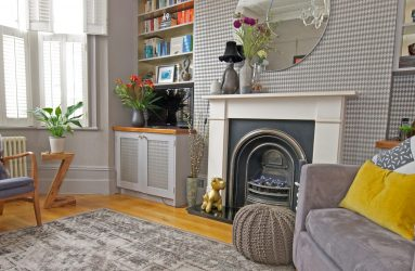 Style Your Space Fireplace and Alcove