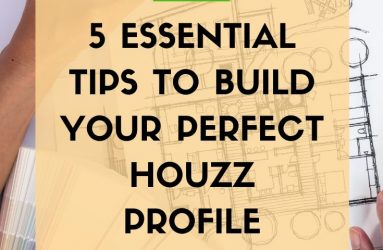 Fiona Mostyn, my deco Marketing, 5 Essential Tips to Build your Perfect Houzz Profile