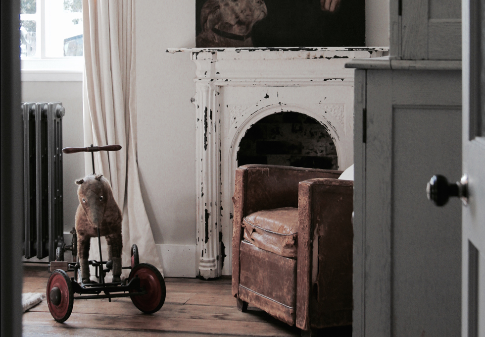 Victorian Fireplace, the Textured House