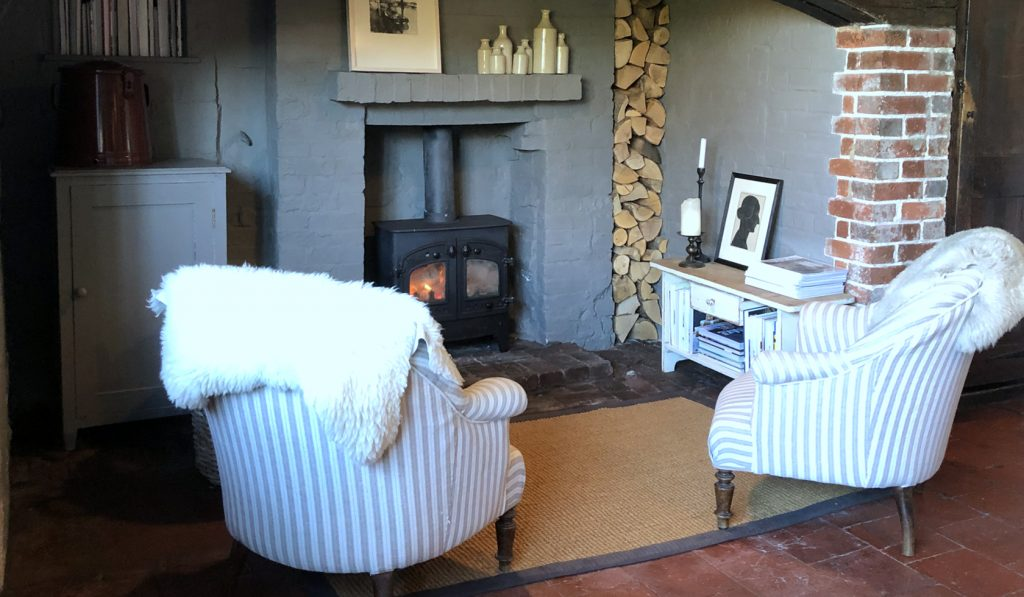 Inglenook Fireplace at The Textured House