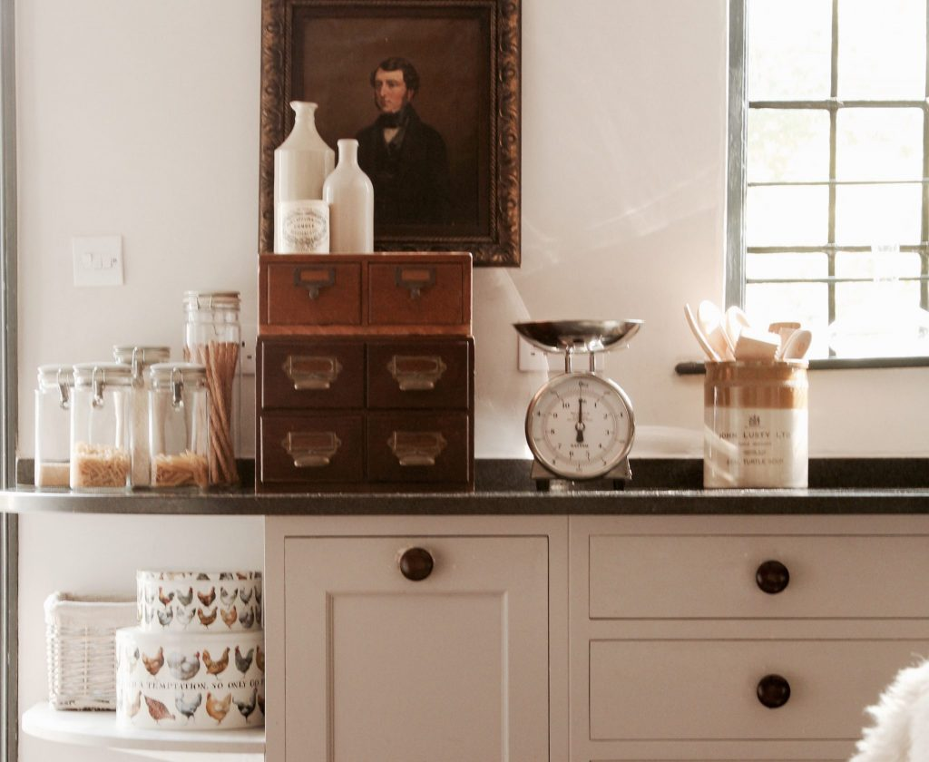 Kitchen Cabinet, the Textured House