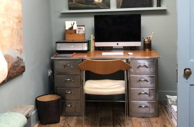 Study Desk, the Textured Room