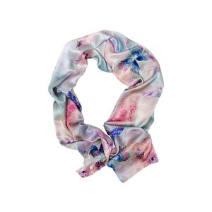 Rêverie Butterfly Silk Scarf by Salon Libertine Available at The Decorcafe Shop