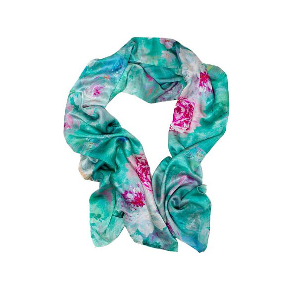 Valerie Silk Scarf by Salon Libertine and Available at The Decorcafe Shop