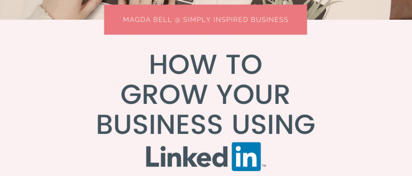 The Decorcafe Event - How to Grow your Business Using LinkedIn with Magda Grad