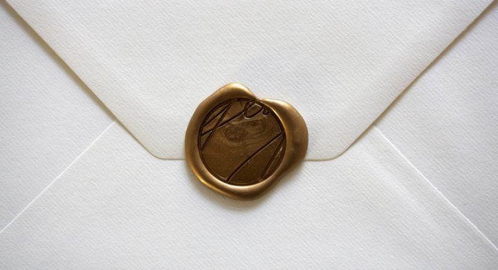 By George sealed envelope