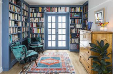 Anna Auzins, Interior Design, Library, Colour