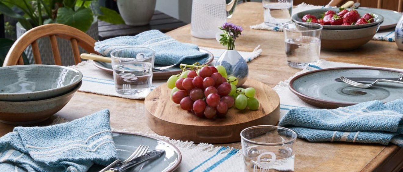 Barrydale Table Linen by Craft Editions Available at The Decorcafe