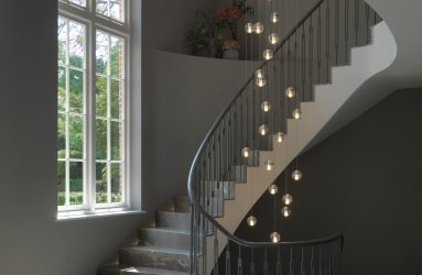 Stairwell Lighting Designed by Decorcafe Expert Victoria Jerram