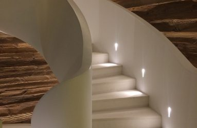 Contemporary Staircase Lighting Designed by Decorcafe Expert Victoria Jerram