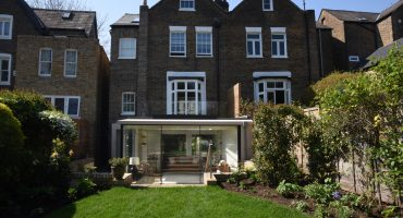 ground floor extension in Richmons