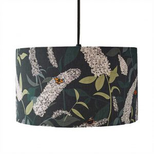 Buddleia Lampshade b yLorna Syson available at The Decorcafe Shop