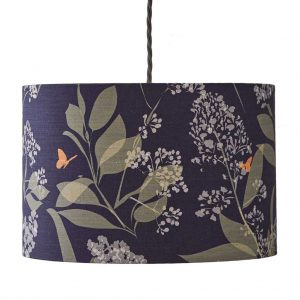 Buds & Butterflies Lampshade by Lorna Syson Available from The Decorcafe Shop