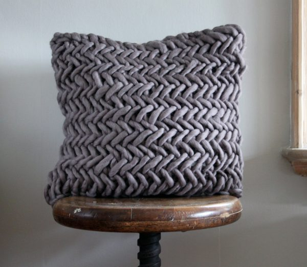 Alice Quod Cushion in Mink by Melanie Porter available at The Decorcafe Shop