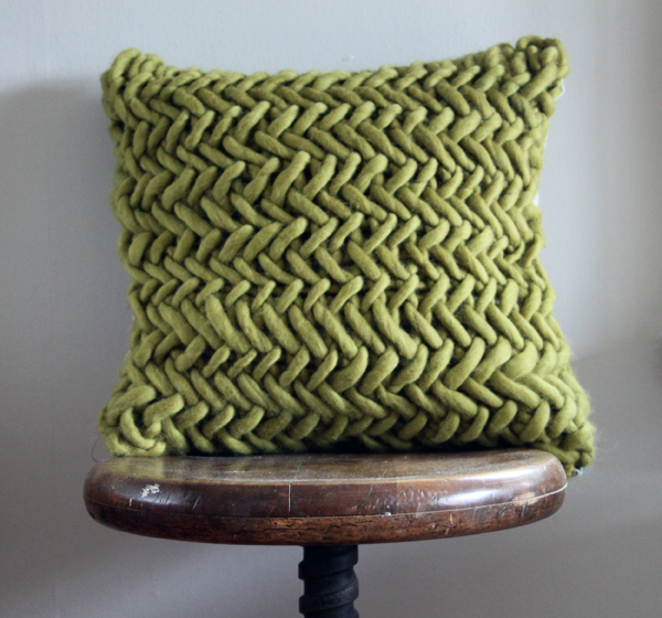 Alice Quod Cushion in Moss by Melanie Porter available at The Decorcafe Shop