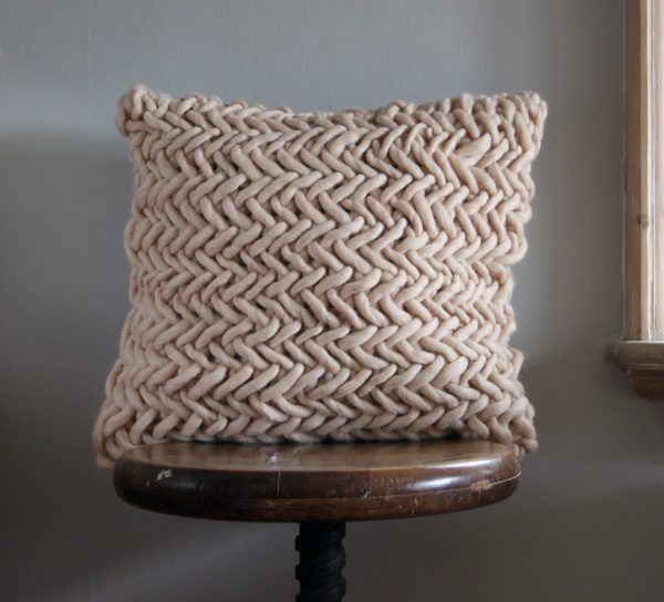 Alice Quod Cushion in Oysterby Melanie Porter available at The Decorcafe Shop