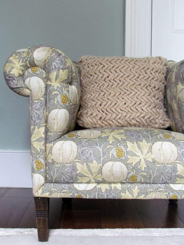 Alice Quod Cushion in Oyster by Melanie Porter available at The Decorcafe Shop