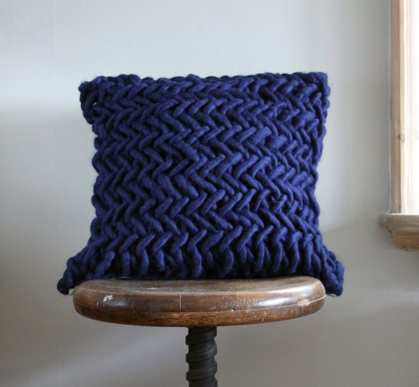 Alice Quod Cushion in Sapphire by Melanie Porter available at The Decorcafe Shop