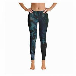 Botanic Leggings Full Length Front