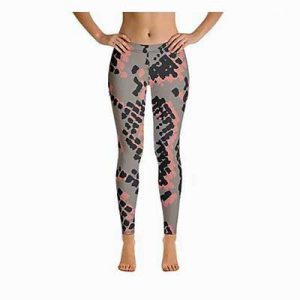 Scaled Leggings Full Length Front