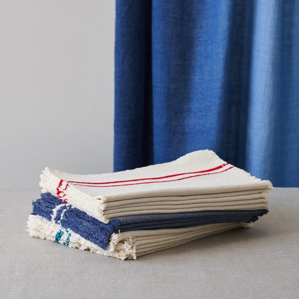 Barrydale Placemat by Craft Editions available at The Decorcafe Lifestyle image showing all three colourways available