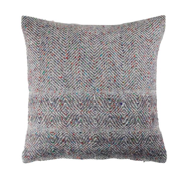 Donegal Twill Cushion in Fossil by Craft Editions available at The Decorcafe Cut out Image