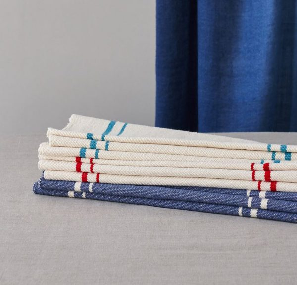 Barrydale Table Runner by Craft Editions Lifestyle Image Folded Runners Available at The Decorcafe
