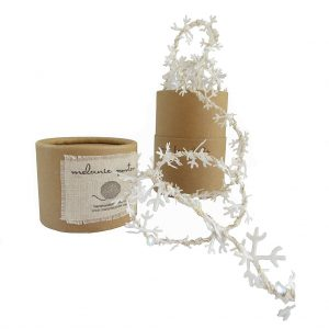 Snowflake Fairy Lights by Melanie Porter available at The Decorcafe Cut out image