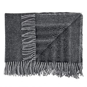 Donegal Twill Throw by Craft Editions at The Decorcafe