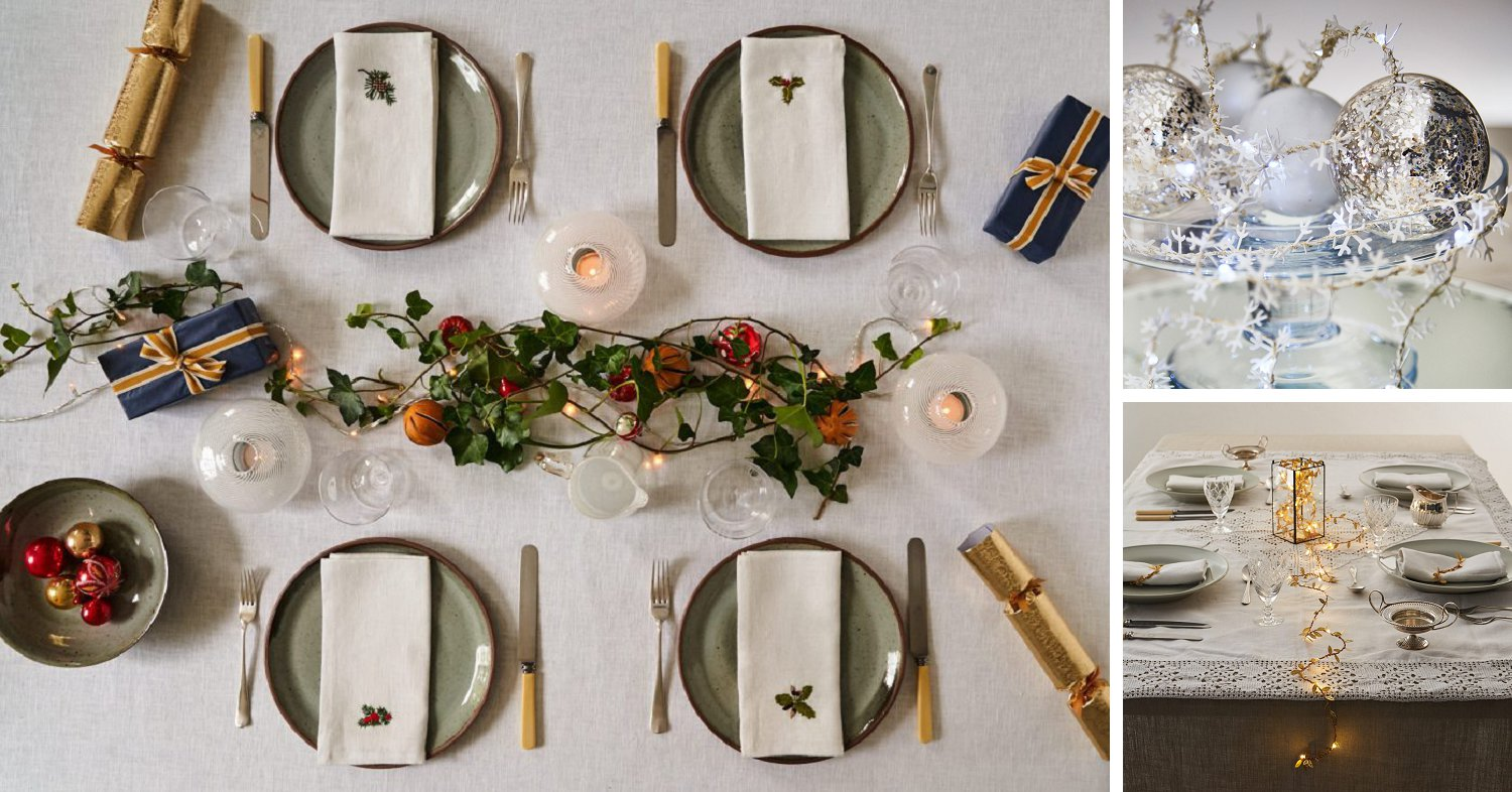 Dress Your Christmas Table with Beautiful items from the Decorcafe Online Christmas Festival