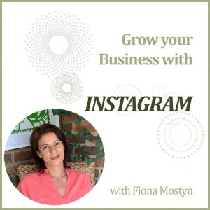 Grow your business with an Instagram Power Hour with Decorcafe marketing expert Fiona Mostyn